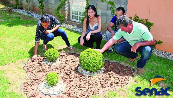 Curso de Jardinagem SENAC